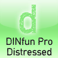 DINfun Pro Distressed